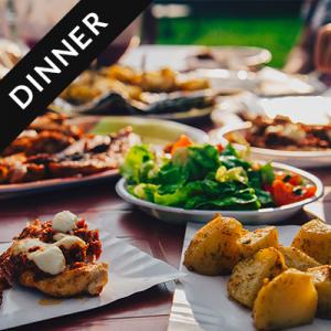 Dinner & song share