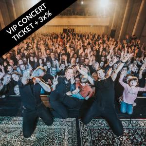 VIP meet-and-greet concert ticket & 3x song share